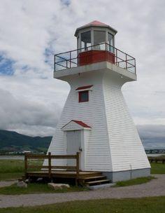 Phare du Carleton, E. Quebec, CA.  nr the Careton Campground.  Owner/site manager: Canadian Coast Guard