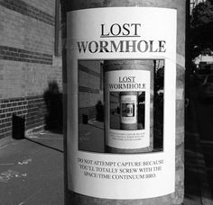 Lost Wormhole   http://ift.tt/2g2zzqR via /r/funny http://ift.tt/2fEwpIW  funny pictures