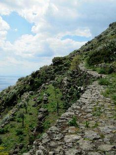 path in Filicudi,