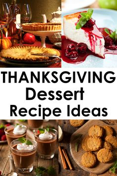 20 Best Thanksgiving Dessert Recipes - Thoughts Above Traditional Thanksgiving Recipes, Easy Thanksgiving Recipes, Vegetarian Thanksgiving, Thanksgiving Appetizers, Thanksgiving Side Dishes, Thanksgiving Holiday, Thanksgiving Decorations, Holiday Recipes, Christmas
