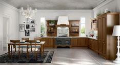 Verona cucina classica Kitchen Island, Kitchen Cabinets, Verona, Interior Design, Table, Furniture, Caravaggio, Home Decor, Top