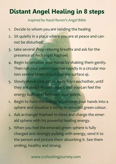 Reiki practitioners could add Reiki to this practice. Even Reiki 1s could use this method. Very lovely. ~~~Tacey