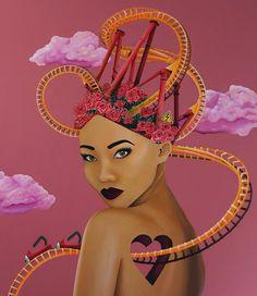Emotional Rollercoaster - Rolled Canvas Print – SUE TSAI
