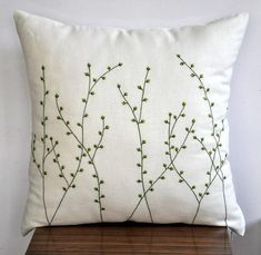 "Pussy Willow Throw Pillow Cowl- 18"" x 18"" Ornamental Pillow Cowl - .... ** Take a look at more by clicking the picture link"