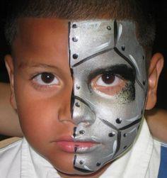 robot makeup toddler - Google Search