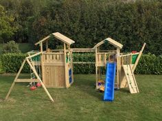 Innovative design by Jungle Gym: the Boat Module is for little pirates who conquer the backyard looking for treasures.     #PinToPlay #JungleGymStories