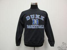 The Cotton Exchange Duke Blue Devils Crewneck Sweatshirt sz M Medium University #TheCottonExchange #DukeBlueDevils #tcpkickz