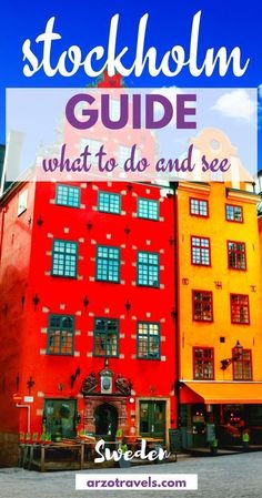 What to do and see in beautiful Stockholm. Places you should not miss and some more important travel information. Sweden, Europe. #swedentravel