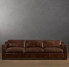Unique Restoration Hardware Leather Sofa. The Light House sofas