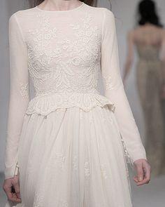 white lace peplum