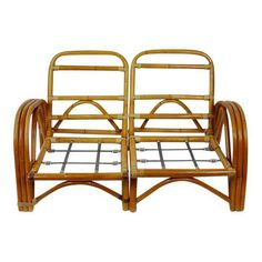 "Results for ""Bamboo loveseat/ chair sets"" Rattan Furniture, Home Furniture, Modern Materials, Vintage Shops, Love Seat, Bamboo, Mid Century, Cushions, Retro"