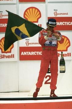 Ayrton Senna Brazil 1991