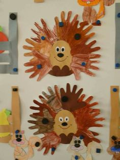 Kids igel u pinteresu quick and easy hedgehog art projects autumn fall for quick Hedgehog Crafts For Kids and easy hedgehog art - Art Craft Ideas Kids Crafts, Fall Crafts For Kids, Toddler Crafts, Crafts To Do, Diy For Kids, Arts And Crafts, Kids Fun, Hedgehog Craft, Quilled Paper Art