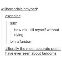 Most accurate observation about fandoms!