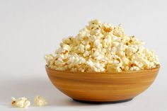 Make Your Own White Cheddar Popcorn - 6 cups of popped popcorn 3-4 T of melted butter 2 T. Vermont Cheese Powder (or more to taste