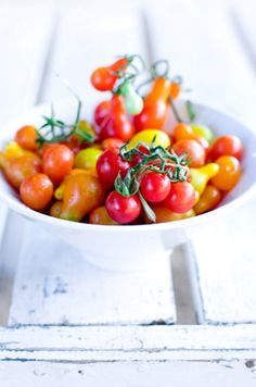 Cherry Tomatoes by Araceli Paz