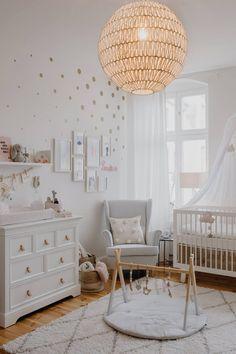 Baby Bedroom, Baby Room Decor, Nursery Room, Girl Nursery, Nursery Decor, Nursery Ideas, Room Baby, Child Room, Ikea Baby Room