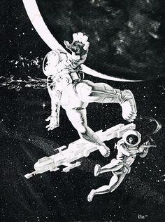 Bob Kline - Astronaut shot