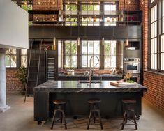 Endüstriyel Mutfak Tarzı (4)