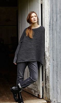 I must have one in every color.  Jack Sweater.  Fashion - Knitwear - Plümo Ltd