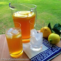 Real Iced Lemon Sweet Tea. This classic recipe perfect for the summer, and even easier now that I have my own lemon trees. Moving to Australia from Canada caused many food culture shocks, introducing amazing new foods, and causing me to miss favourites, like Sweet Lemon Iced Tea. I'd like to say that I only …