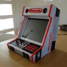 NES bartop [done] [build plans included]