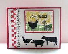 Deb's Card Buffet: Farm Thanks