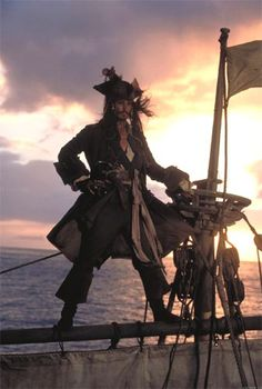 The introduction of Captain Jack Sparrow - that man knows how to make an entrance, Pirates of the Carribean.