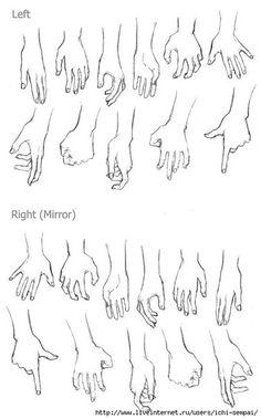 Картинки по запросу правая рука рисование