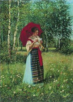 Reading the Letter - Nikolay Bogdanov-Belsky