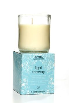 Aveda Light the Way Soy Candle I just found my favor soy candle you can use the wax on your hands and elbows. It's amazing:)