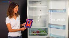 Cómo organizar tu #nevera: cada #alimento tiene su sitio