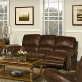 Found it at Wayfair - Motion Thor Leather Match Dual Recliner Sofa