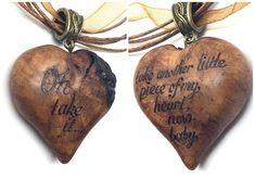 Valentine's Day Heart Pendant anyone??? Isn't this gorgeous? #JanisJoplin