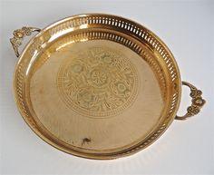 Brass Tray - 25cm