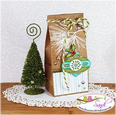 Christmas Bauble Petite Cafe Gift Bag