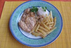 Fotorecept: Kuracie prsia s cibuľkou na prírodno Steak, Pork, Beef, Kale Stir Fry, Meat, Steaks, Pork Chops