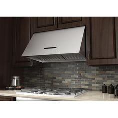 Would like a remote for your Range Hood?  Down to the last Under Cabinets that offer that!  Purchase now! Dont miss out!  -------  Under Cabinet Range Hood in Stainless Steel (568-30) has a modern design and built-to-last quality that would make it a great addition to any home or kitchen remodel. This hood's high-performance 4-speed motor will provide all the power you need to quietly and efficiently ventilate your kitchen.