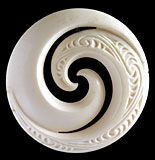 Mmmm Koru designs for pottery decorations? Simple Leaf Style and design College students start by Understanding primary chopping approaches, making a bas Koru Tattoo, Maori People, Bone Crafts, Maori Designs, Nz Art, Bone Jewelry, Maori Art, Carving Designs, Stone Sculpture