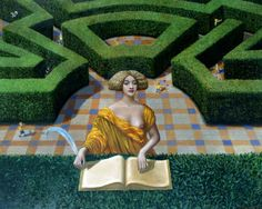 Mike Worrall 1942 ~ Surrealist painter