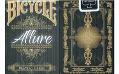 Bicycle Allure Playing Cards. $9.95. #playingcards #poker #games #magic