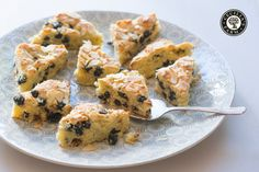 A lovely, light tray cake that goes a long way when you have lots of people to feed!
