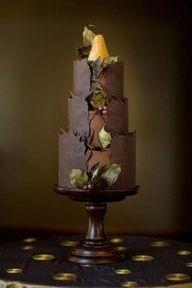 #wedding #chocolate #cakes www.finditforweddings.com