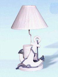 16.5 Inch Anchor Piling Lamp : · Nursery LampsOcean NurseryNautical ...