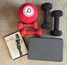 workout recap including running and Pure Barre from home / The Cookie ChRUNicles