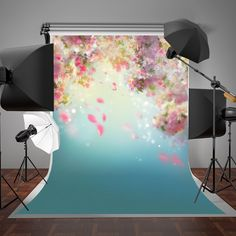 SUSU Pink Flowers Photography Backdrops White Glitter Bokeh Blue Photo Bakground Romantic Backdrop for Birthday Background For Photography, Photography Backdrops, Digital Photography, Product Photography, Video Backdrops, Studio Backdrops, Birthday Backdrop, Birthday Background, House Is A Mess