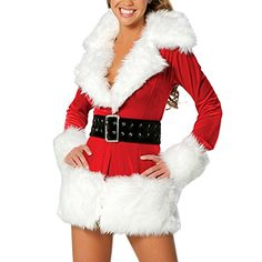 LlYT ZJ Womens Christmas Hallowmas Dance Party Cosplay Clothing ** Check out the image by visiting the link.(This is an Amazon affiliate link)