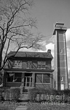 Marcus Hook Rear Range Lighthouse in DE