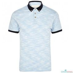 2247d0ec Bulk Sublimation Blue & Black Polo #Shirt Black Polo Shirt, Blue Polo  Shirts