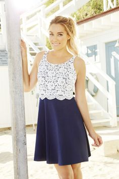 A little lace. A lot of style. LC Lauren Conrad at #Kohls